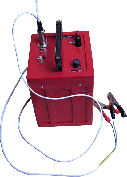 Portable electrodynamic source «D-600»